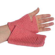 Fingerless Mittens - Lotus