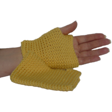 Fingerless Mittens - Sunflower